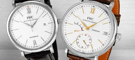IWC Portofinos Most Iconic Leather Watches for Men