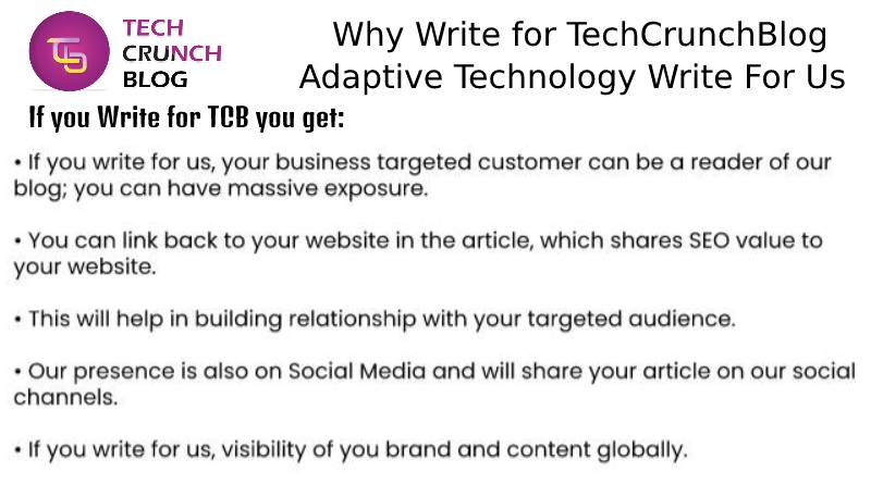 Why Write for Adaptive Technology write for us