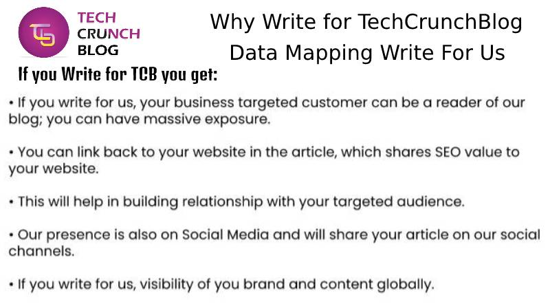 Why Write for Data Mapping Write for us