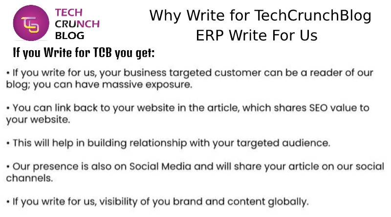 Why Write for ERP Write For Us
