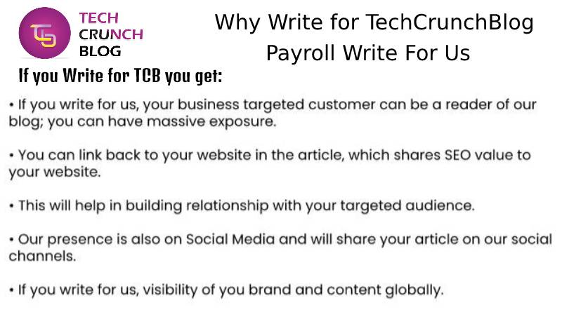 Why Write for Payroll Write for us