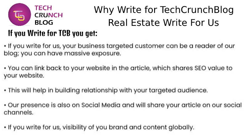 Why Write for Us Real Estate Write for us